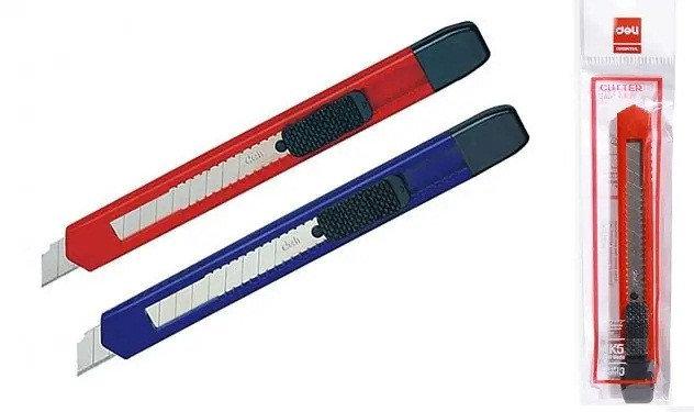 Нож канцелярский DELI, 9 мм, фото 2