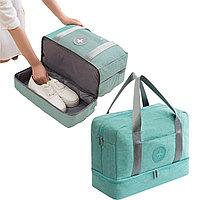Водоотталкивающая сумка для путешествий трансформер непромокаемая березовая