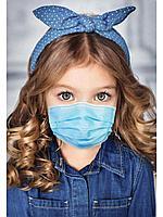 Маска детская одноразовая медицинская