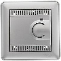 Термостат электронный для теплого пола с внешним термодатчиком Schneider Electric W 59 хром