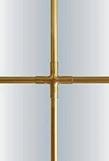 Декор профиль БЕЛЫЙ 7*18 мм / KARO-LINE