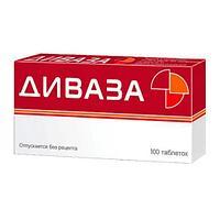 Диваза диспергируемые табл. в полости рта № 100