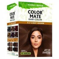 Краска для волос тон 9.7 Color Mate Light Brown (светло-коричневый), 5х15 г. =75гр