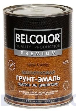 Грунт-эмаль BELKOLOR АУ-1356 Молотковая  темно-корич., черная, вишневая, светло-корич. по 0,8кг