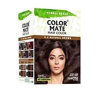 Краска для волос тон 9.2 Color Mate Natural Brown (натуральный-коричневый), 5х15 г. =75гр