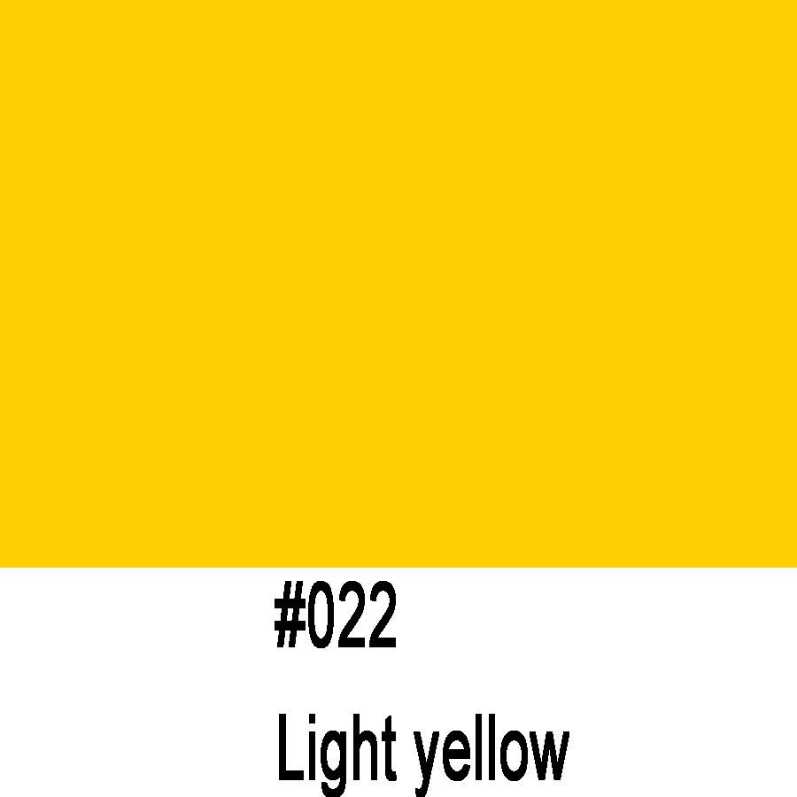 ORACAL 970 022GRA (1.52m*50m) Светло желтый глянец