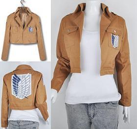 Куртка Разведкорпуса - Атака Титанов