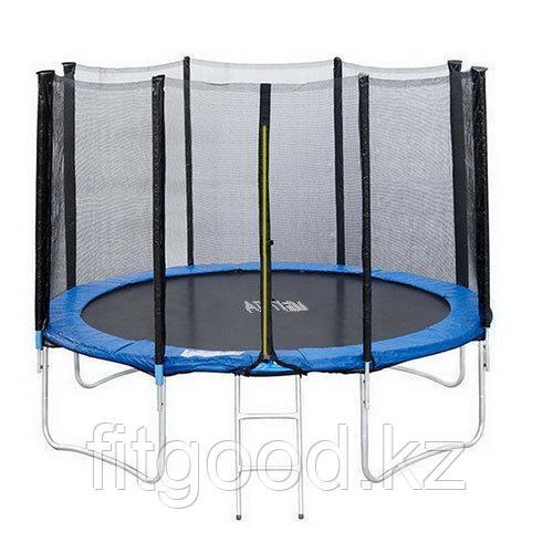 Батут ART.FiT 10 футов (305см) с защитной сеткой и лестницей, 4 ноги