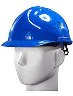 Каска защитная Исток Евро (синяя) храповик