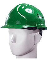 """Каска защитная """"Исток Евро"""" (зеленая) храповик"""