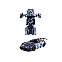 Радиоуправляемый Трансформер RASTAR 74820B 1:14 Mercedes-Benz GT3 Transformable car  2.4GHz Свет Звук Танцует