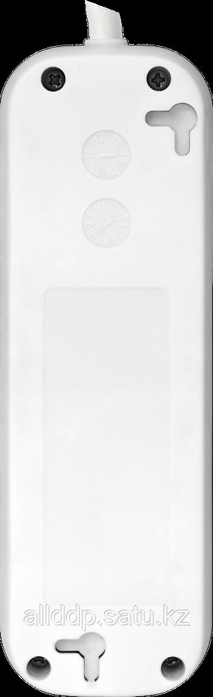 Удлинитель, DEFENDER, с заземлением E350 5.0 м, 3 розетки