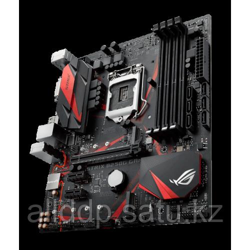 Материнская плата Asus STRIX B250G GAMING, B250, S1151, 4xDIMM DDR4, PCI-E x16, 2xPCI-E x1, 2xM.2, HDMI, DP