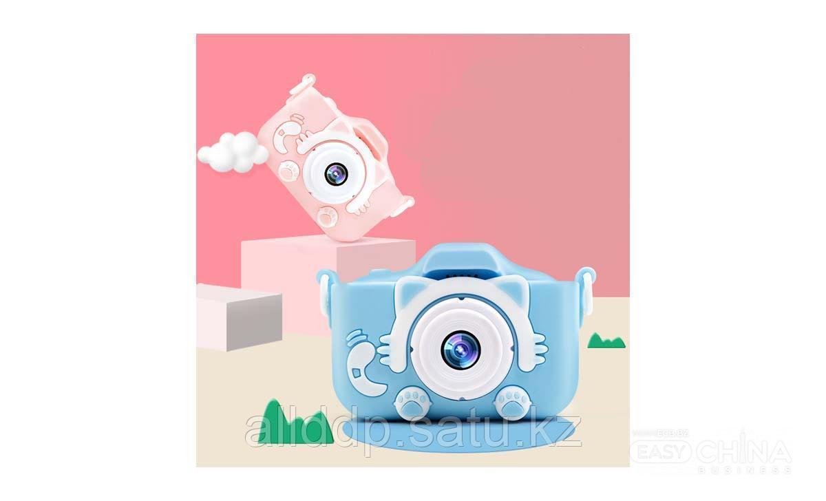 Детская цифровая камера - фотоаппарат Little Kitty