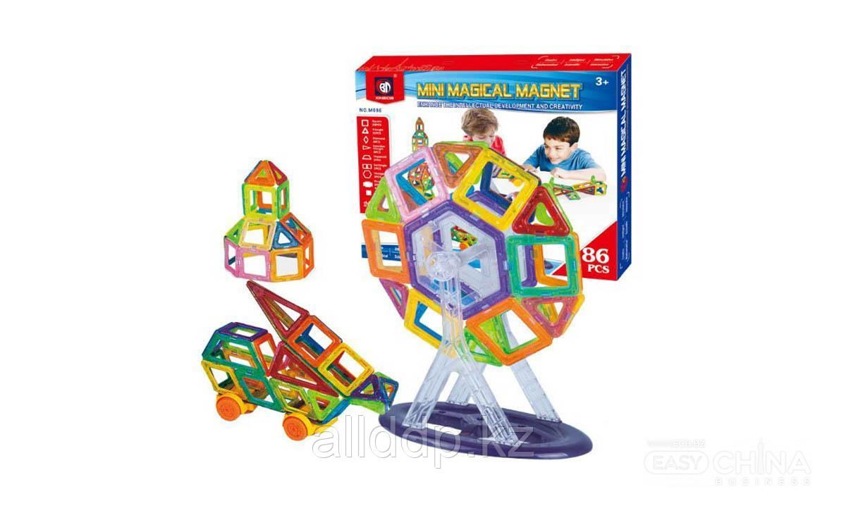 Детский конструктор Mini Magical Magnet 86 деталей