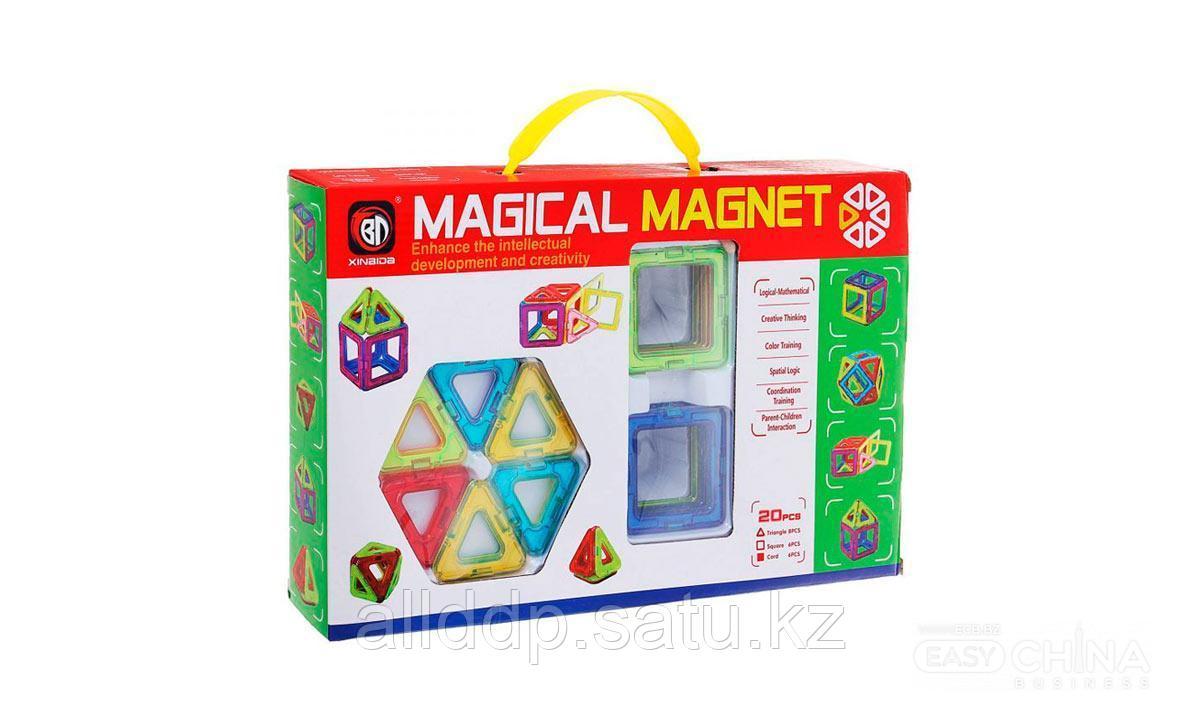 Детский конструктор Magical Magnet 20 деталей