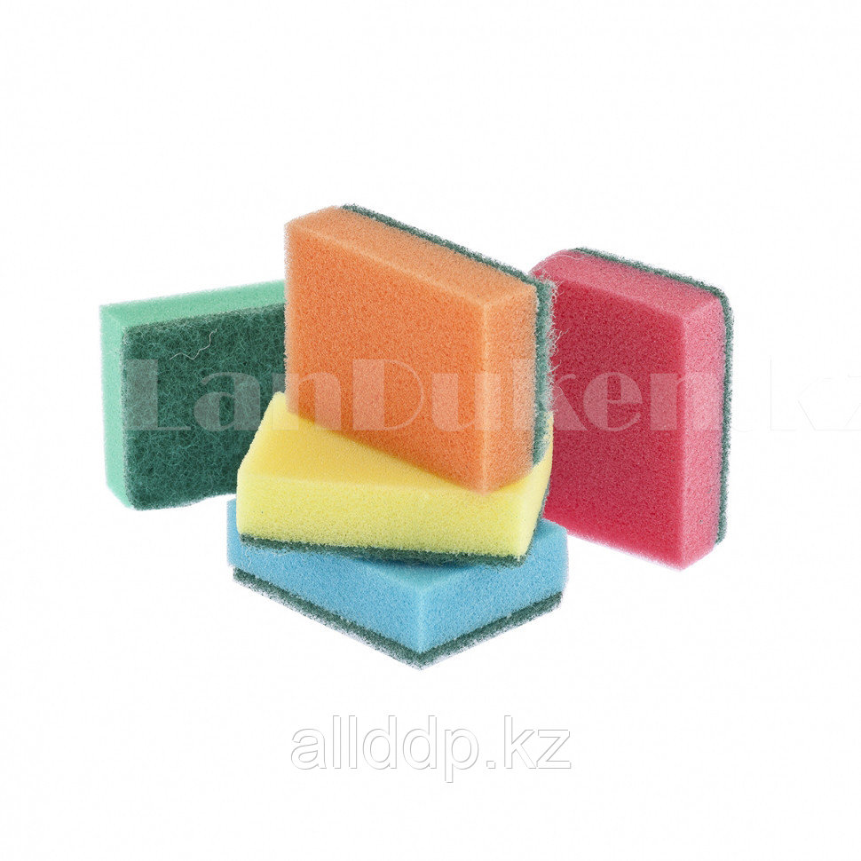 Губки для посуды OPTIMA 96х64х27 мм 5 шт ELFE 92351 (002)