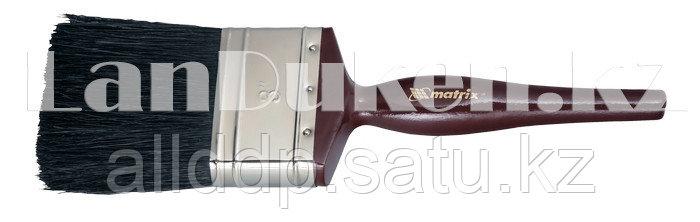 """Кисть плоская """"Декор"""" с деревянной ручкой 3/4"""" MATRIX 82615 (002)"""