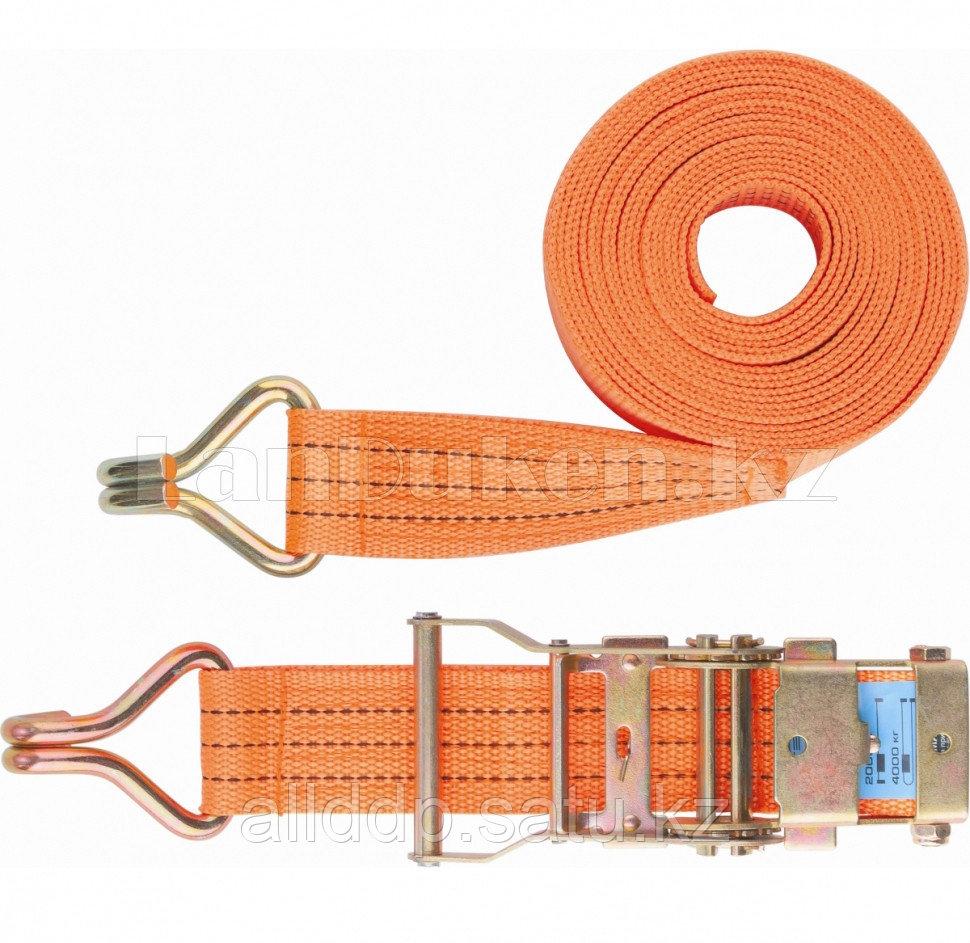 Ремень багажный с крюками, 0,05х12м, храповый механизм, Россия 54388 (002)