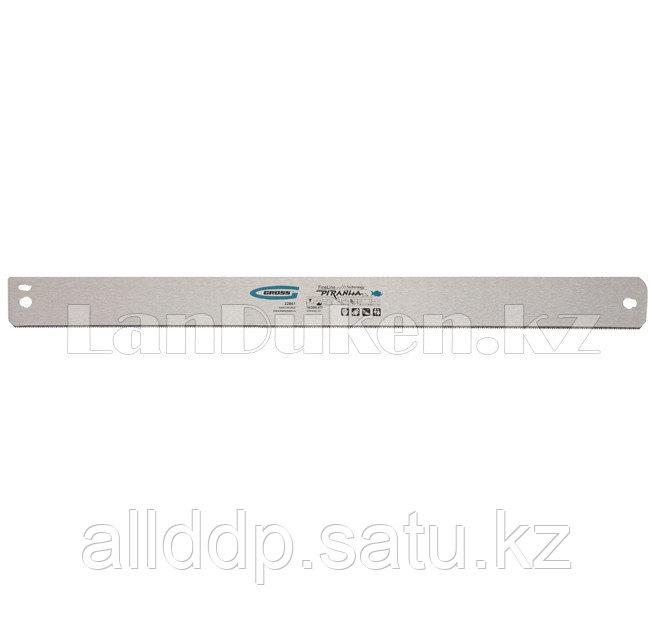 """Пильное полотно для прецизионного стусла """"PIRANHA"""", 600 мм, зуб 2D, каленый зуб, 18 TPI 22869 (002)"""
