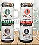 Чашки-кружки керамические с принтом Starbucks CUP для кофе и чая 350 мл зеленый, фото 7