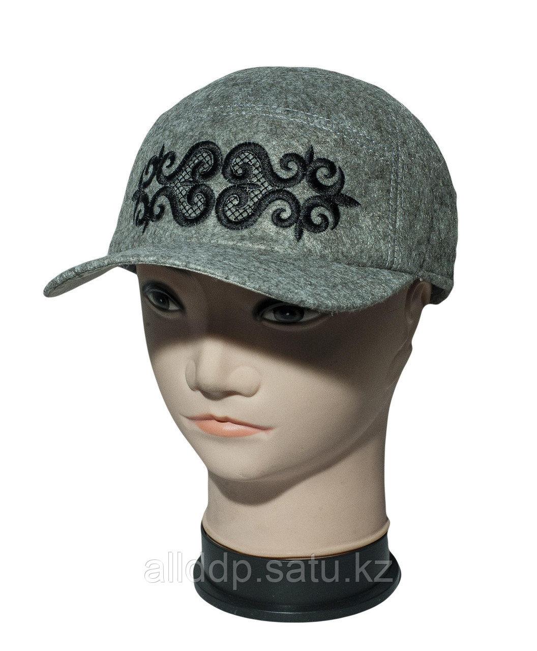 Мужская кепка на ТОЙБАСТАР (серый)