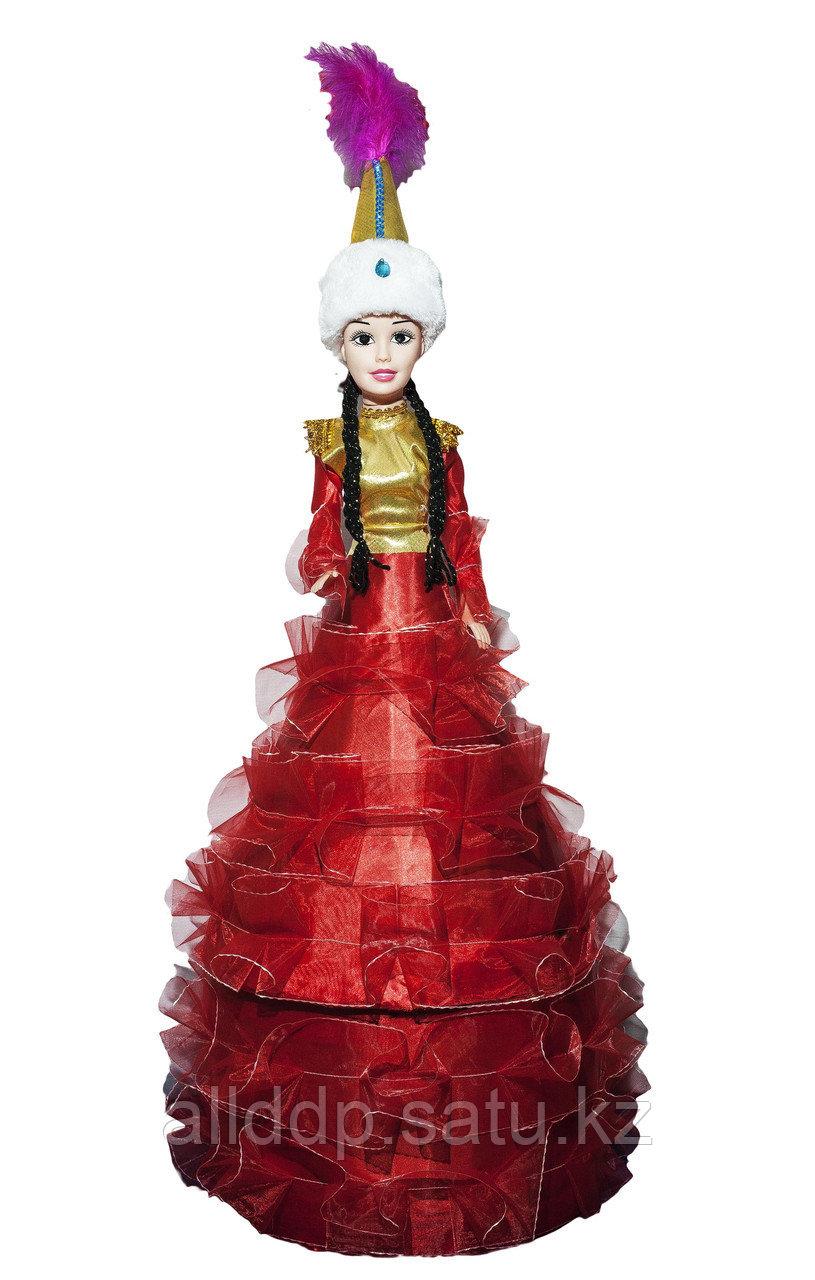 Тойбастар калта, кукла, 92 см (красный)