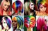 Набор мелков для волос 12 цветов, пастель для временного окрашивания волос, фото 3