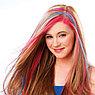 Цветные мелки для волос Hot Huez (Хот Хьюз) 4 цвета цветная пудра для покраски волос, фото 4