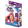Цветные мелки для волос Hot Huez (Хот Хьюз) 4 цвета цветная пудра для покраски волос, фото 5