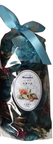 Натуральный сухой ароматизатор, пот-пурри (саше), 100 г Морской бриз