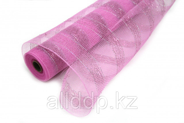 Сетка рулонная, крупная, фиолетовая