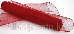 Сетка рулонная, мелкая, красная