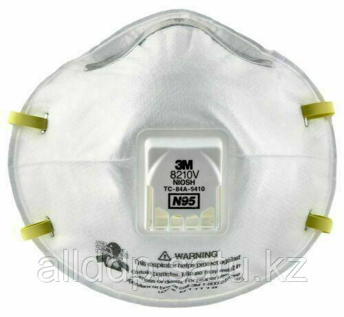 Индивидуальный маска респиратор N95 3M 8210v, 8212, 8122 , ffp1 ffp2 Средства индивидуальной защиты