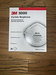 30 3M 8000 Респиратор маска N95