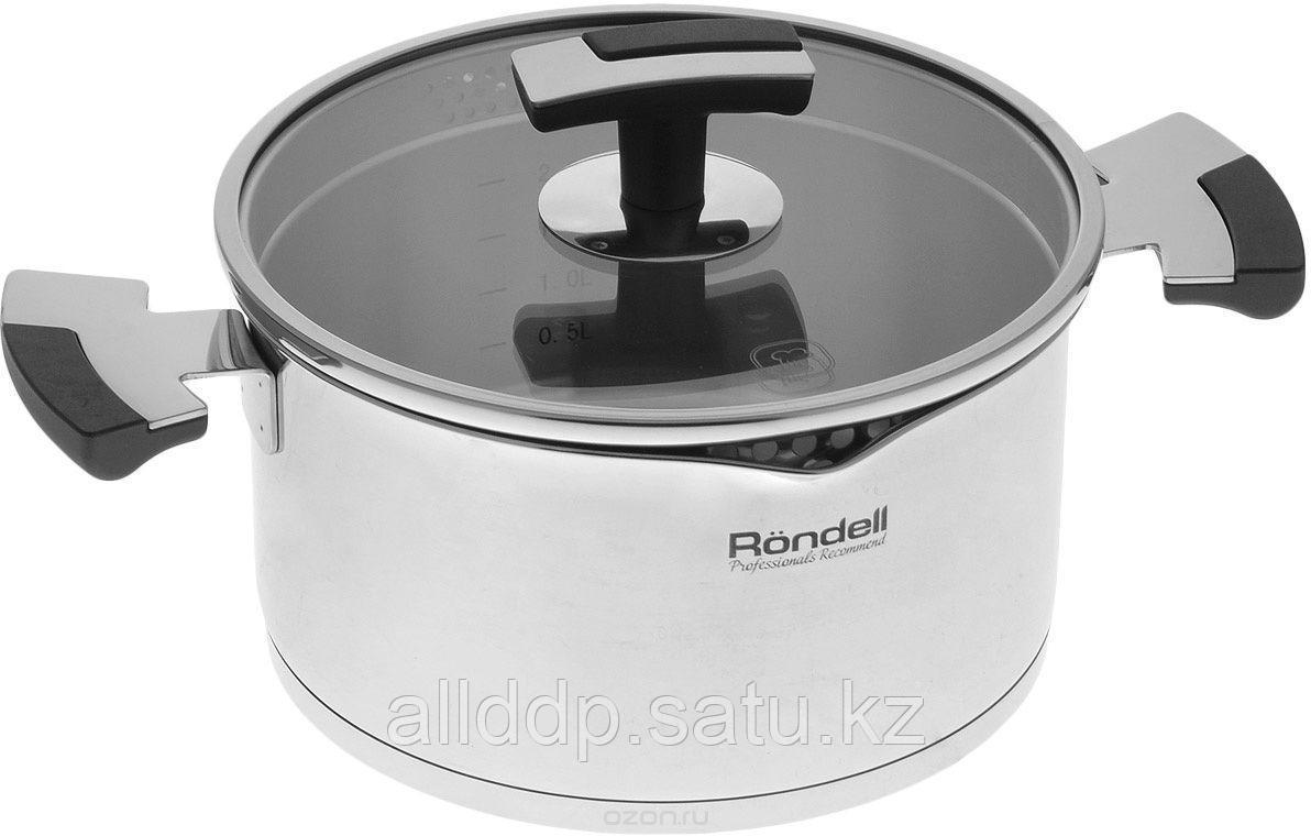 Кастрюля RONDELL  Eskell с крышкой ( 24 см, 6,2 л)