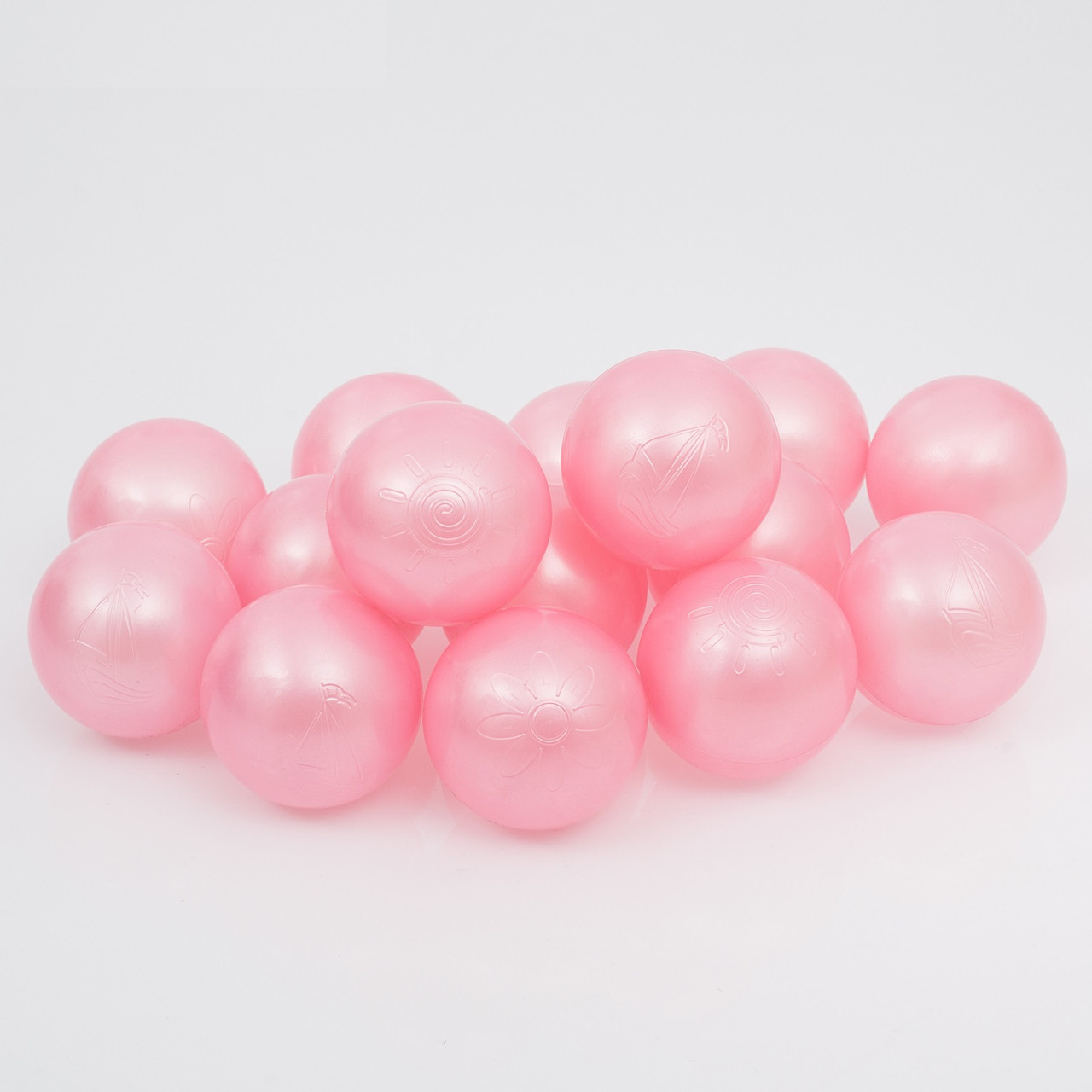 Шары для сухого бассейна Розовый Перламутр
