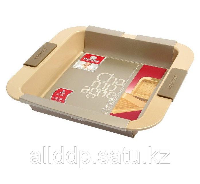 Посуда для запекания квадратная с решеткой Rondell 416RDF RDF-416