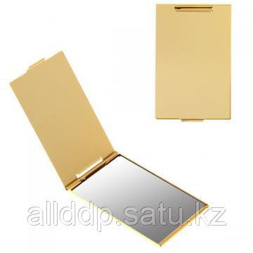 Зеркало прямоугольное 5 х 8,5 см, под золото