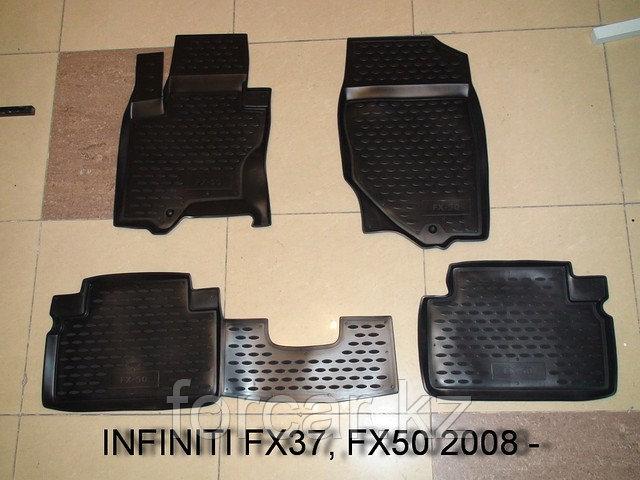 Коврики в салон INFINITI FX35 2003-2007