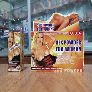 """Возбуждающая жвачка для женщин """" Sex Powder"""" (В упаковке 5 пластинок)."""