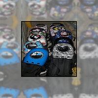 Рюкзак-переноска для животных с вентиляцией и окошком, голубой