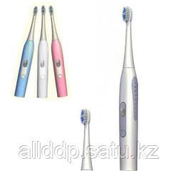 Электрическая зубная щетка Nanjiren Electric Toothbrush, голубой Китай, Розовый, Зубная щетка, Новое, 1, 2