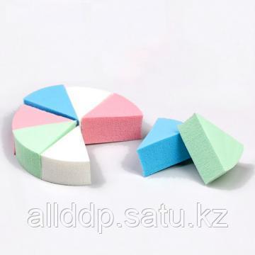 Набор спонжей для нанесения косметики, 7 х 3 х 2 см, 8 шт, цвет микс
