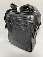 """Мужская нагрудная сумка-мессенджер """"Cantlor"""". Высота 25 см, ширина 20 см, глубина 6 см., фото 1"""