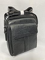 """Мужская сумка-мессенджер через плечо""""Cantlor"""". Высота 25 см, ширина 20 см, глубина 6 см., фото 1"""