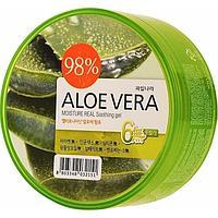 Aloe Vera Moisture Real Soothing Gel 300 ml [Welcos]