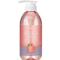 Гель для душа Around Me Natural Perfume Vita Body Wash Peach 500ml.  (Welcos)