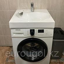 Раковина для установки на стиральную машину - Лотос 60