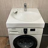 Раковина для установки на стиральную машину - Лотос 60, фото 2